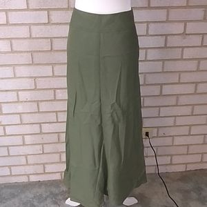 NWOT East5th Linen Skirt Sz 12